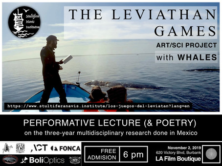 The Leviathan Games - NOV 2, 2019 - Los Angeles