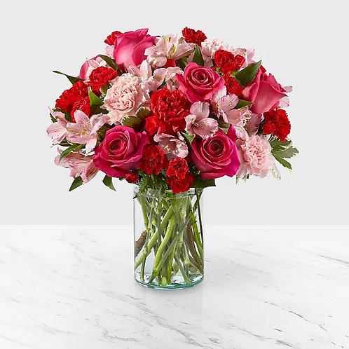 Valentine's Day Pink Mix Bouquet