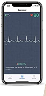 Wellue Heart Monitor(Wearable Chest Strap) For Fitness Use