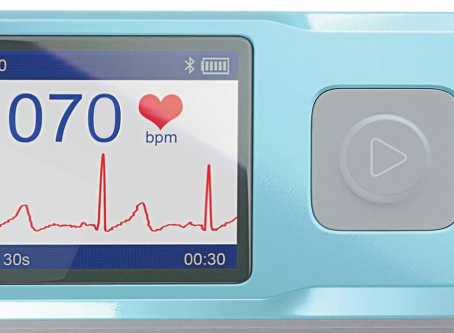 Sonohealth portable EKG heart monitor