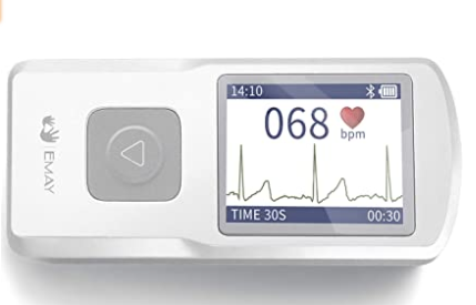 # 3 Emay Portable EKG Monitor
