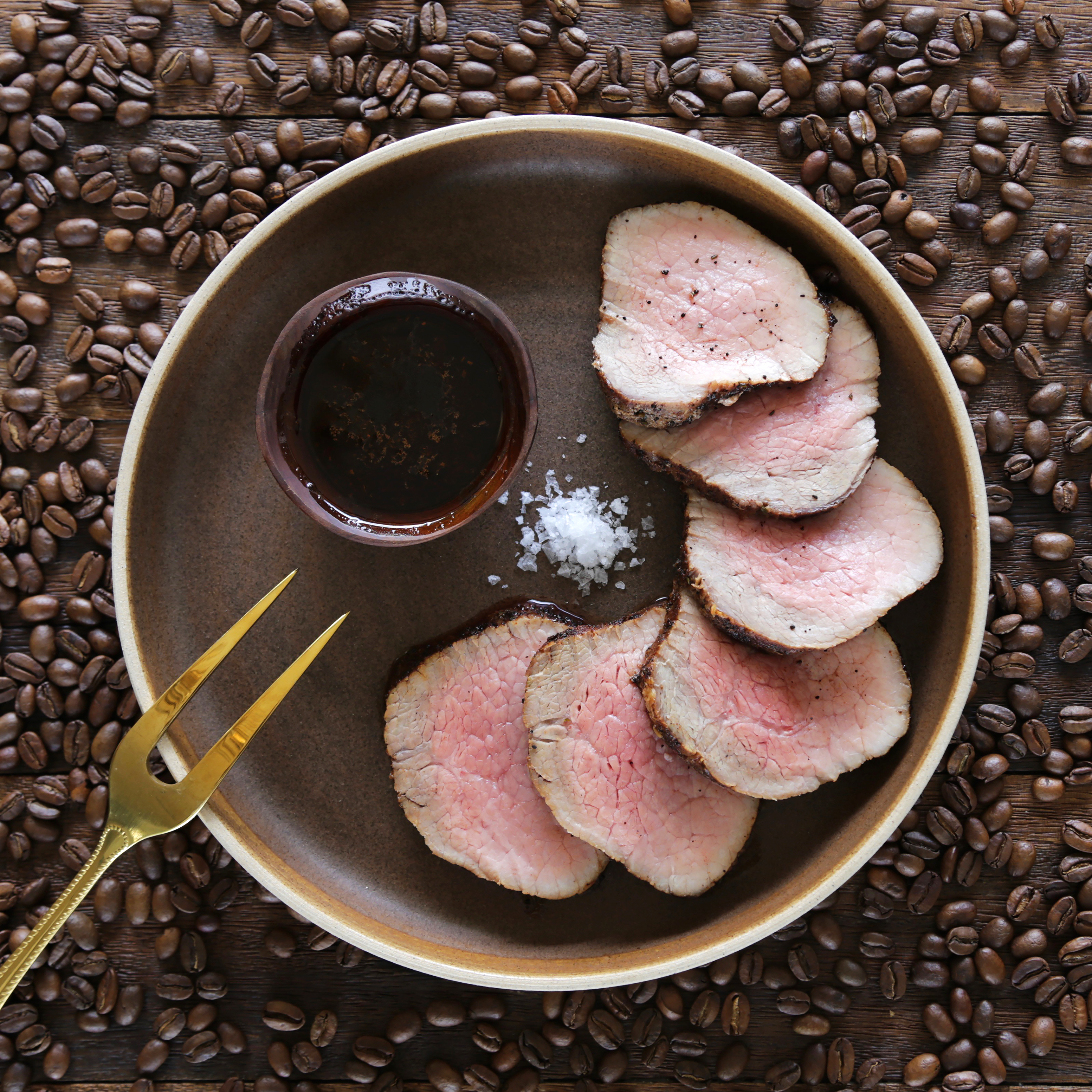 coffee rubbed beef peq