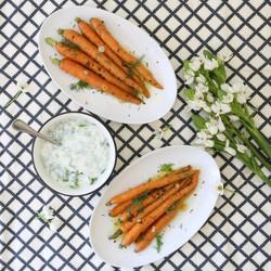 Zanahorias rostizadas