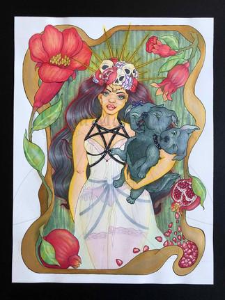 Persephone & Cerberus