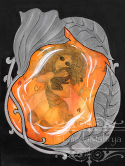Embraced in Amber - $265