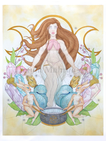 Ostara Goddess of Spring