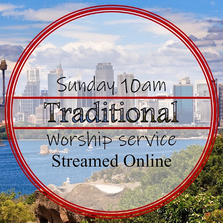 Sunday 10am Online Service