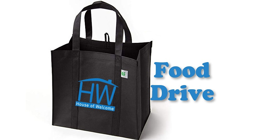Foodbank Donation for House of Welcome