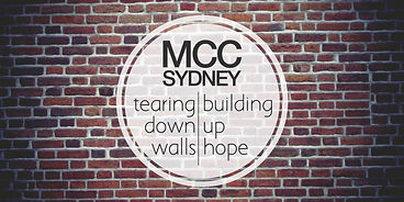 MCC Sydney Tearing down walls Building up hope
