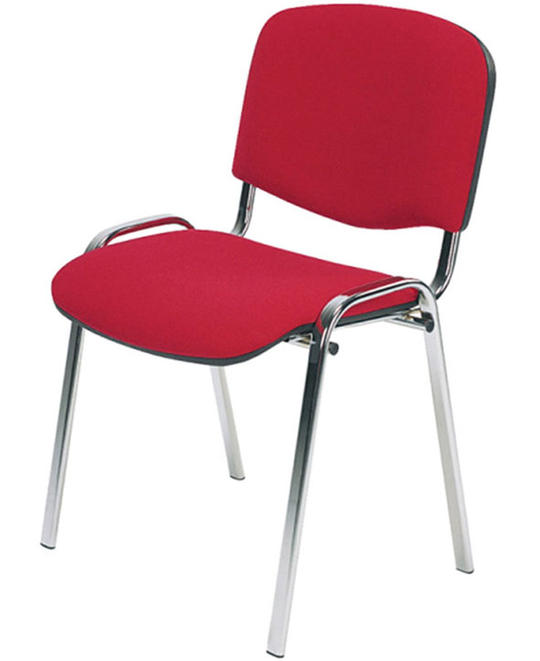 silla de visita tapizada
