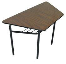Mesa escolar trapezoidal