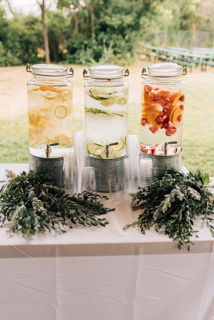 Beverage table pieces