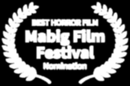 BEST HORROR FILM - Mabig Film Festival -
