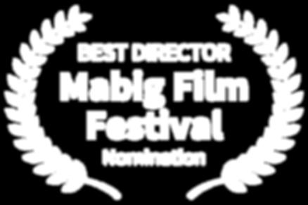 BEST DIRECTOR - Mabig Film Festival - No
