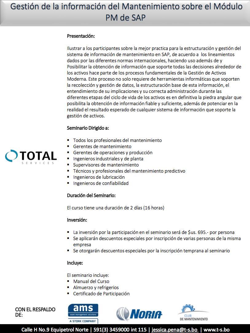 Gestion de la informacion del Mantenimiento de SAP PDF