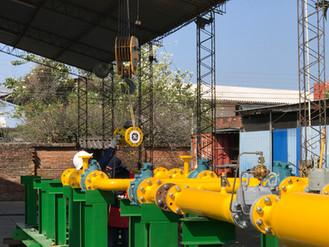 Bolivia TOTAL Services Ltda ha sido adjudicado con la importante tarea del puente de gas de la nueva
