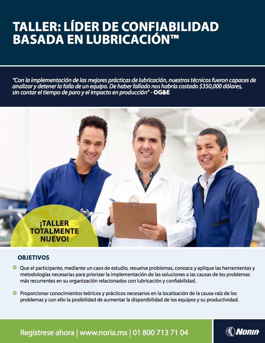 lider de confiabilidad basada en lubricación - Bolivia-1