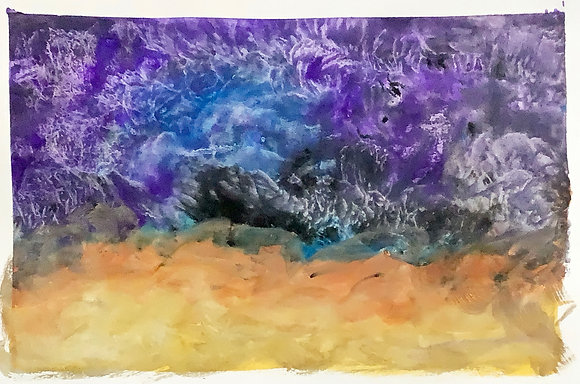 """""""After the Storm"""" fine art watercolor print"""