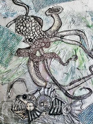 Steampunk Abyss #1 Fine Art Print