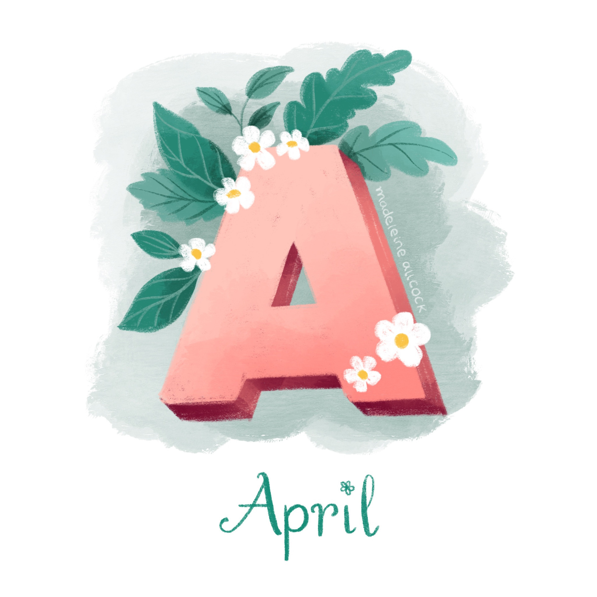 A is for April