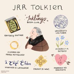 Portrait of an author: JRR Tolkien