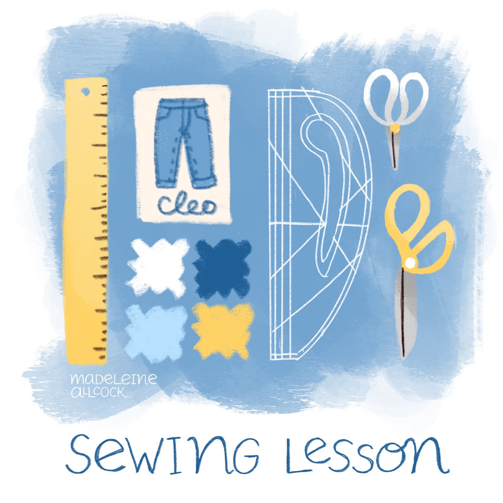 Sewing Lesson