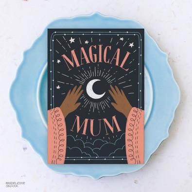Magical Mum Card