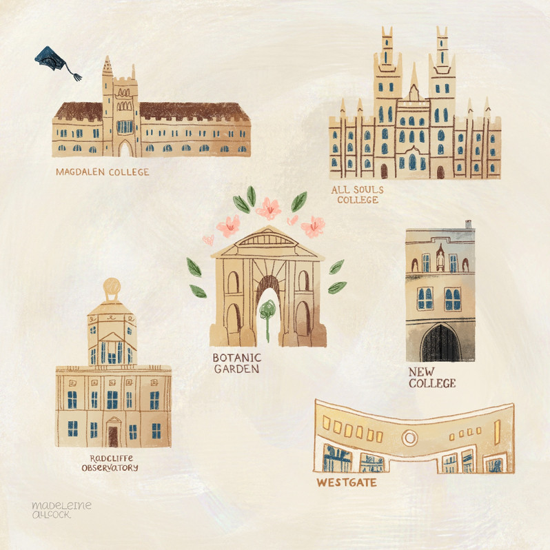 Oxford Map icons