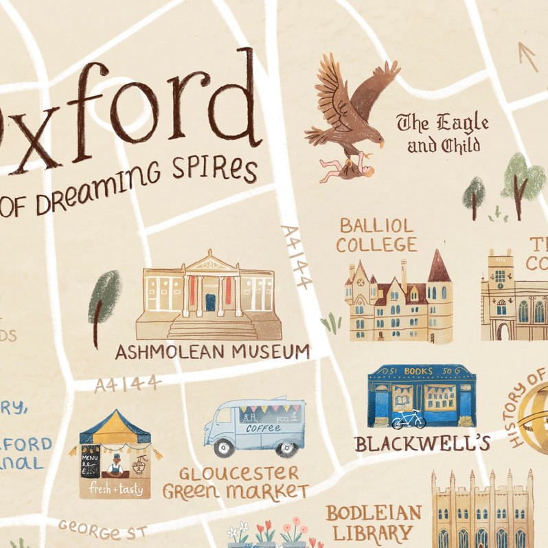 Oxford Map zoom in