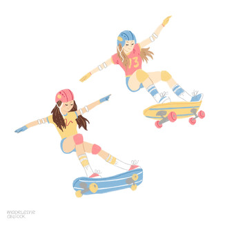 1980s female skaters that changed history