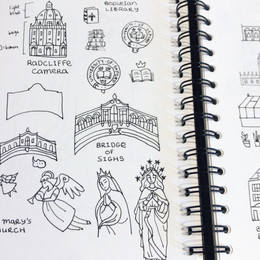 Sketching from photographs for map illustration