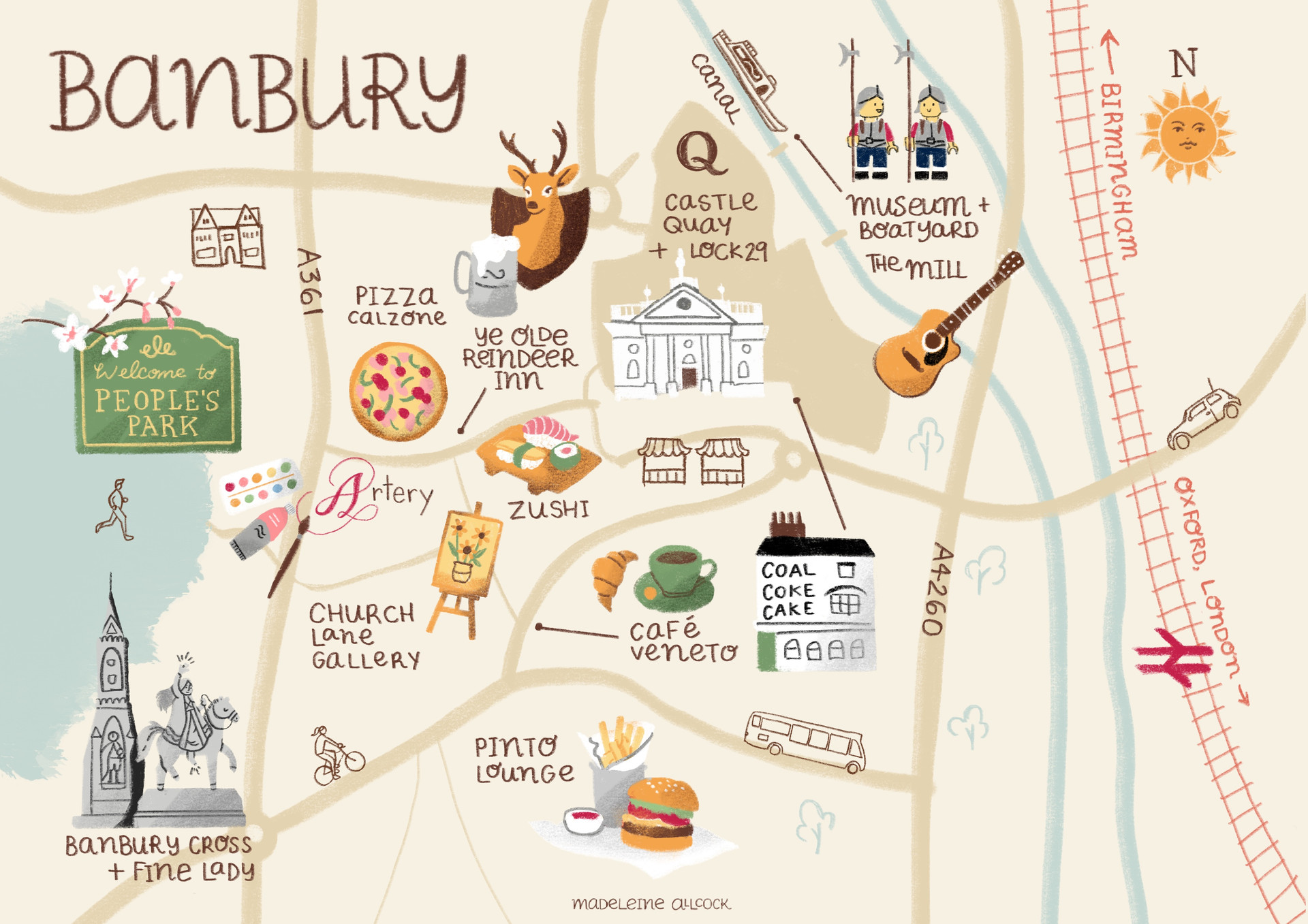 Putting Banbury on the map