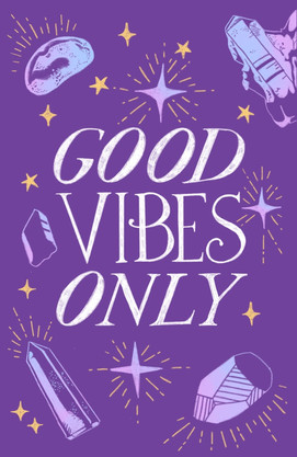 Good Vibes Only Main Illustration