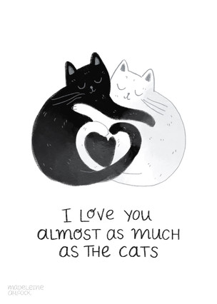 Couple Cats Card
