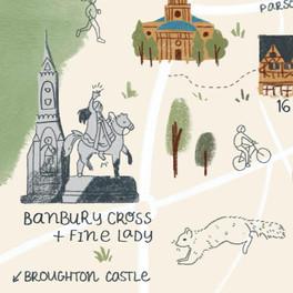 Banbury Cross and Fine Lady