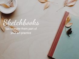 Art and Mental Health Series: Sketchbooks