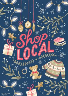 Shop Local – A4 Poster