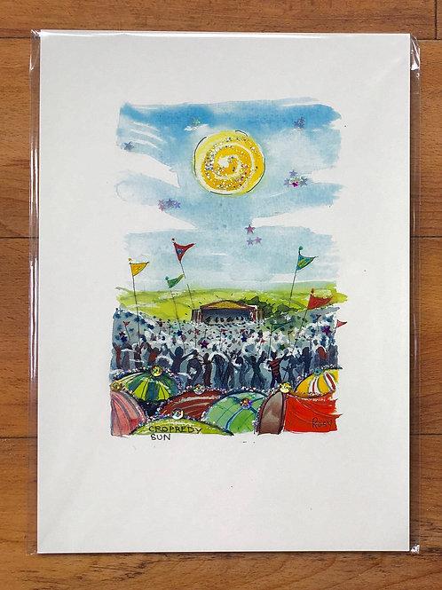 RB Cropredy Sun Print