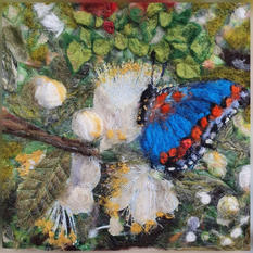 Karen Baum Blue Butterfly