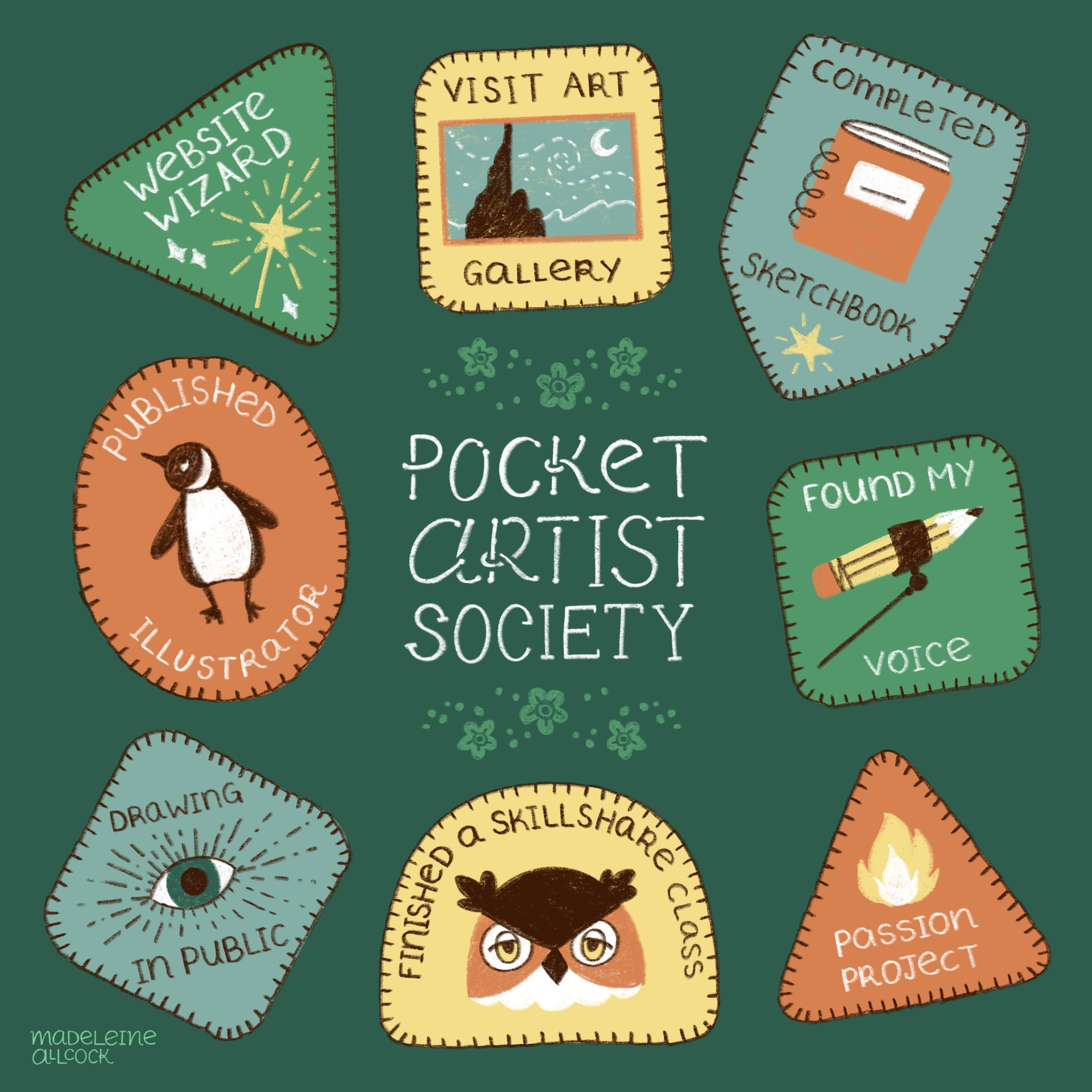 Creative Merit Badges