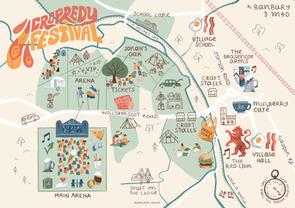 Cropredy Festival Map
