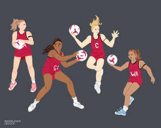 How Britain's female netball team took the world by storm