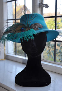Peacock Trilby.
