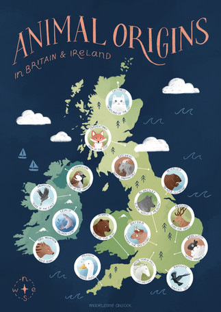 Animal Origins Map