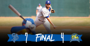 SENIOR SUNDAY AS VETERANS LEAD SAINTS TO 7-4 VICTORY OVER CANARIES