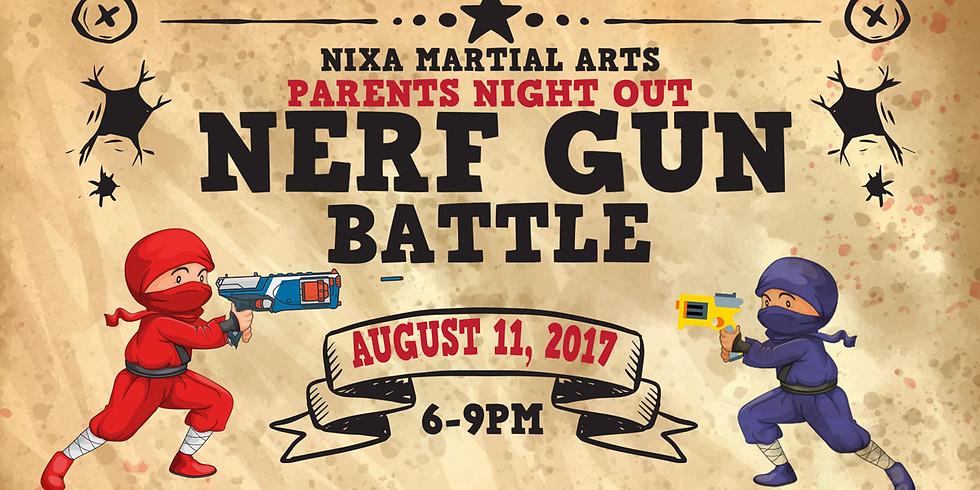 Parents Night Out:  Nerf Gun Battle!