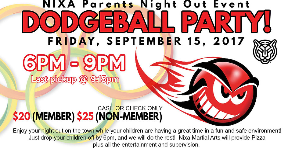 Parents Night Out:  Dodgeball Party!