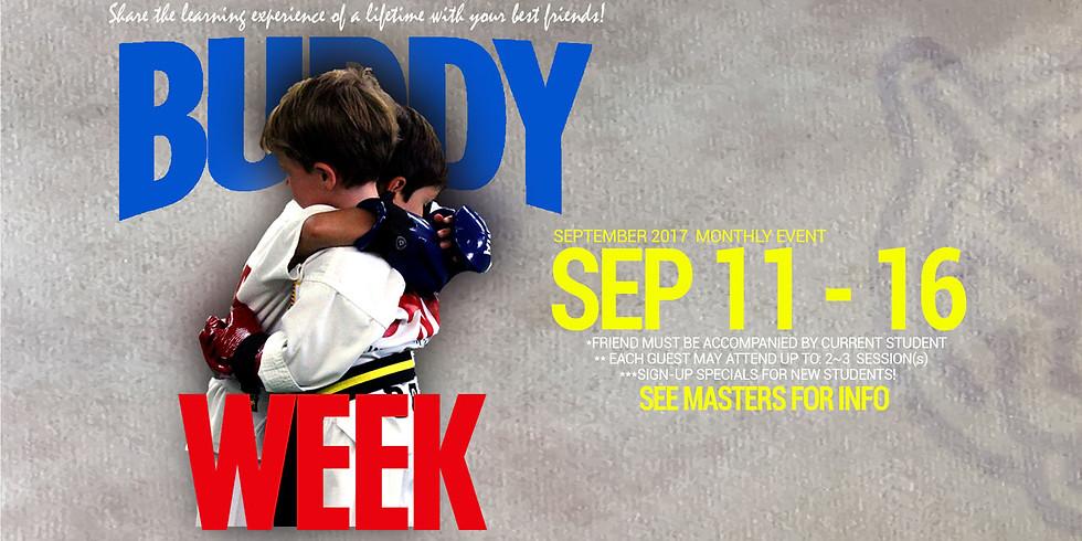 BUDDY WEEK!