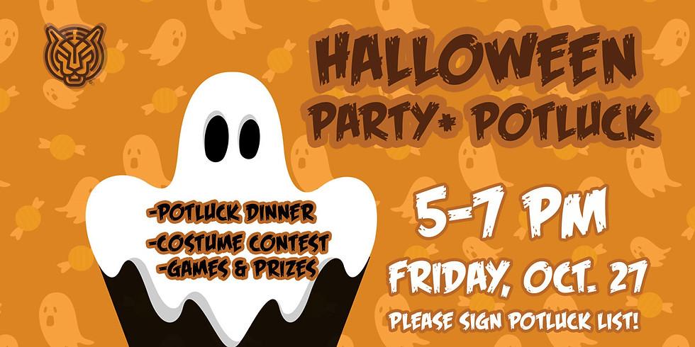 Halloween Costume Party + Potluck!