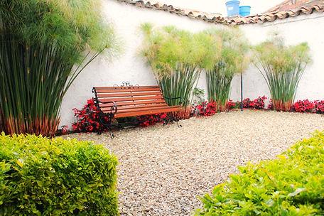 Hotel posada Santa Elena patio
